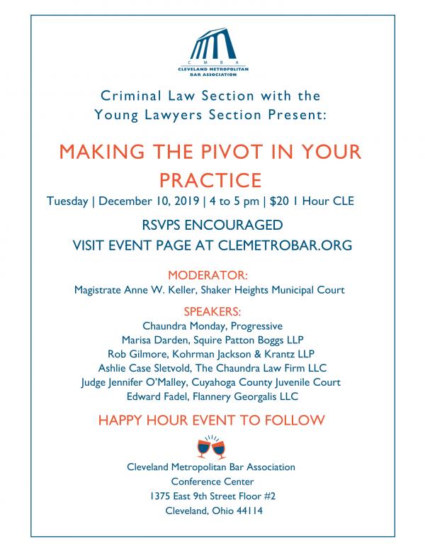 Criminal December 10 Flyer