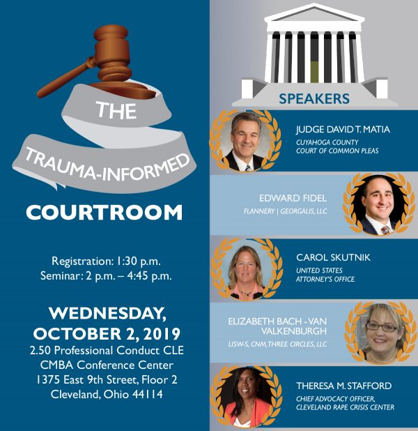 TRAUMA INFORMED COURTROOM FLYER2